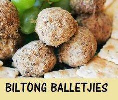 Cream Cheese and Biltong Truffles - aninas recipes Banting Recipes, Meat Recipes, Low Carb Recipes, Snack Recipes, Appetizer Recipes, Dinner Recipes, Healthy Recipes, Tea Snacks, Savory Snacks