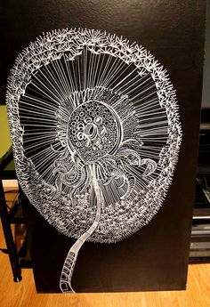 This is another great work by Stephen D. Ferris! Love this dandelion!!! I believe you can see his work here: www.stephendferris.com
