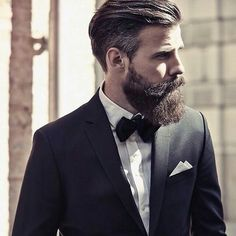 mens hair styles dressing with a beard or yes you can take a beard 4259