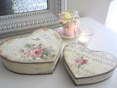 Meu Doce Lar: Caixas - Shabby Chic, Cottage, Vintage...