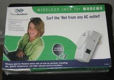 Wireless Jacks for Modems Surf The Net from Any AC Outlet | eBay