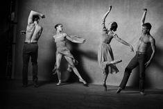 Нью-йорский балет в фотосессии Питера Линдберга (Интернет-журнал ETODAY)