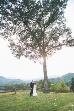 Kelly & Clayton are married!  Clyde, NC Wedding ~ Asheville Wedding Photography