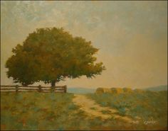 landscapepaintings | Ralph Parker: Classic, Serene Landscape Paintings in Gouache