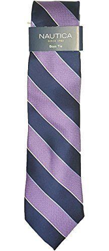 Nautica Boys Tie Stripe