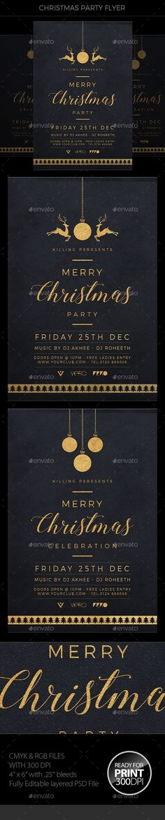 Christmas Flyer Template PSD:
