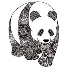 Welcome to coloring page zentangle is the title of this article. Here You can find more than 3 images related with coloring page zentangle. Doodle Art Drawing, Zentangle Drawings, Art Drawings, Zentangles, Panda Drawing, Zentangle Patterns, Mandala Pattern, Mandalas Painting, Mandalas Drawing