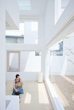 arquitectura + historia: Casa N en Oita: Sou Fujimoto. Una Matrioshka Espacial