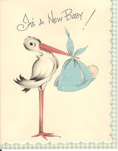 adorable vintage card