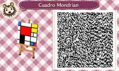 Cuadro Mondrian