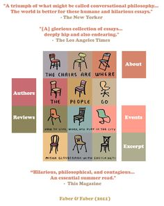 The Chairs Are Where the People Go: By Sheila Heti and Misha Glouberman