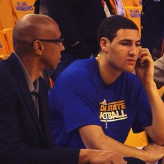 Even before one of the biggest games of his life, Klay Thompson takes the time to call his mom on #MothersDay.