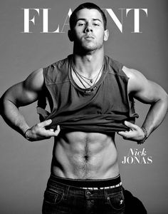 Nick Jonas for Flaunt-Move over Justin Bieber. Nick Jonas gives the singer a run for his Calvin Klein money with a new cover shoot for Flaunt magazine. Jonas Brothers, Nick Jonas Sem Camisa, Nick Jonas Shirtless, Flaunt Magazine, Hommes Sexy, Calvin Klein Underwear, Priyanka Chopra, Cute Guys, Gorgeous Men