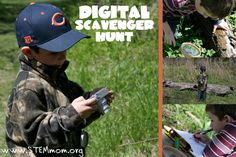Go on a digital scavenger hunt...