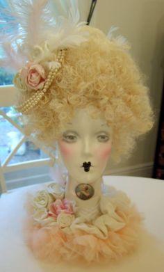 Vintage Mannequin, Mannequin Heads, Vintage Dolls, Doll Head, Doll Face, Milk Jug Crafts, Store Mannequins, Felt Ornaments Patterns, Creepy Vintage