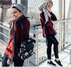 Sweatpants sporty hijab style – Just Trendy Girls