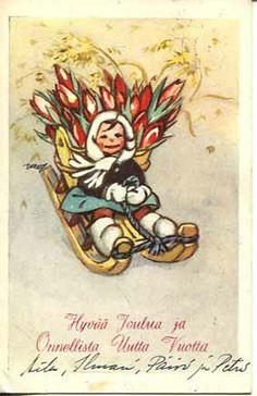 ˇˇ Winter Art, Old Ones, Scandinavian Christmas, Christmas Inspiration, Martini, Finland, Illustrators, Fairy Tales, Christmas Cards