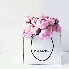 Chanel x peonies