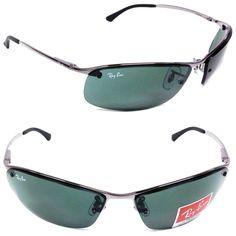 NEW Ray-Ban RB 3183 Gunmetal / Green Lens Sunglasses in Clothing, Shoes & Accessories Sunglasses 2017, Ray Ban Sunglasses Outlet, Ray Ban Outlet, Mirrored Sunglasses, Mens Sunglasses, Uv400 Sunglasses, Cool Glasses, Mini Handbags, Ray Bans