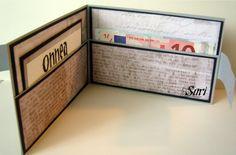 Kortti-ideoita  #äitienpäivä #äitienpäiväkortti #kortti #isänpäivä #lompakko #hääkortti #rippilahja #kirja Cards, Diy, Card Ideas, Boxes, Packaging, Crates, Bricolage, Do It Yourself, Box