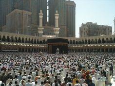 Jumma at the Grand Mosque - Mecca