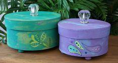 decorative paper mache boxes