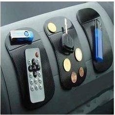 docooler Silica Gel Anti-Slip Car Dashboard Non-slip Mat Magic Sticky Pad for Phone PDA mp3/4 directly stick to cars trucks SUV boats airplanes trains (Black), http://www.amazon.ca/dp/B00DLTR2GW/ref=cm_sw_r_pi_awdl_iyvSvbHVRTQ5C