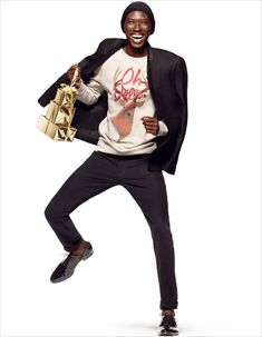 Wilhelmina Model Armando Cabral for H&M, Holiday '14