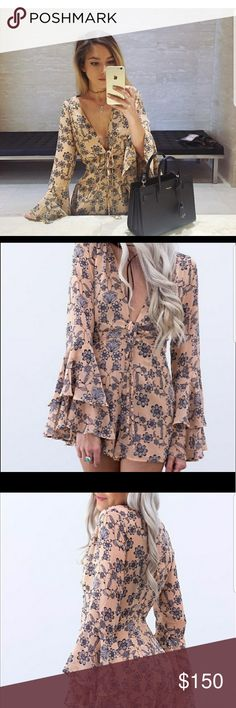 For love and lemons pia romper For love lemons pia romper size small worn a few times great condition everyone loved this romper not in a rush to sell if I don't then I'll just keep thanks For Love And Lemons Other