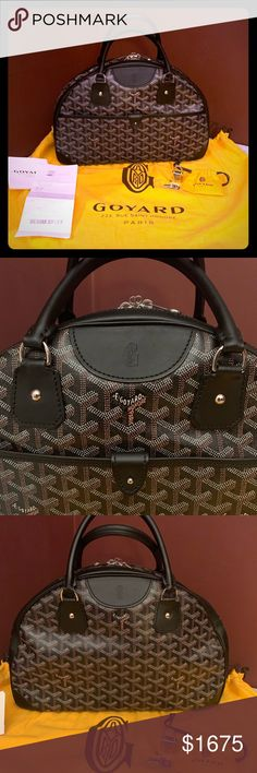 7680a1cfc4f5 Authentic Goyard St. Jeanne MM - Like New! Luxury and casual sophistication