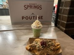 Gobbler Poutine & Canadian Apple Slushy Arrive at Disney Springs for the Holiday Season