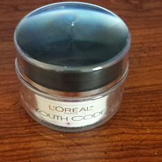 L'Oreal Youth Code day/night cream 1.6oz Gently used 5 times max. Just isn't working with my skin. Purchased only a few weeks ago. I do not have the box for this but it's ready to go for whomever purchases it :) like this and are interested in buying today? I'll lower the price to $13 so you get the $.99 shipping. L'oreal  Accessories