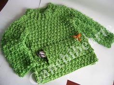 Ganchibearte: Jersey a Crochet