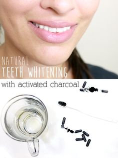 Get whiter teeth naturally using activated charcoal! Yes, you  can brush with activated charcoal as a safe, alternative to harsh whitening strips. http://www.ehow.com/ehow-style/blog/how-to-whiten-your-teeth-with-activated-charcoal/?utm_source=pinterest&utm_medium=fanpage&utm_content=blog