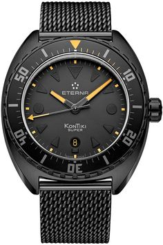 Eterna Men's Super Kontiki - Limited Edition Automatic Watch for sale online Cool Watches, Watches For Men, Men's Watches, Limited Edition Watches, Affordable Watches, Vintage Pocket Watch, Best Mens Fashion, Automatic Watch, Vintage Watches
