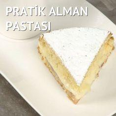 Alman pastasını sevenler bu pratik haline bayılacak Malzemele