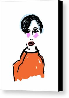 Fashion Vision Canvas Print by Bill Owen.  All canvas prints are professionally printed, assembled, and shipped within 3 - 4 business days and delivered ready-to-hang on your wall. Choose from multiple print sizes, border colors, and canvas materials.