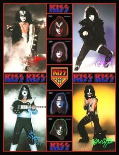 Kiss Concert, Kiss Art, Kiss Pictures, Hot Band, Star Children, Press Photo, Rock Music, Stand Up, Heavy Metal