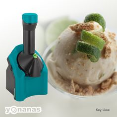 This Key Lime Pie Yonanas Recipe has us wishing for summer vacation! Bananas, Limes and graham crackers…oh my!