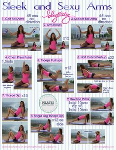 Blogilates - Sleek & Sexy Arms; get ready for tank top season and tropical vacations