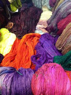 Flying to LA for market! Madeline Tosh, Lace Knitting, Tatting, Dreadlocks, Colours, Hair Styles, Crochet, Fiber, Studio Ideas