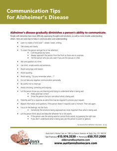 Take a closer look at what you can do to communicate better with the #Alzheimers patient in your life. #mindcrowd #tgen www.mindcrowd.org