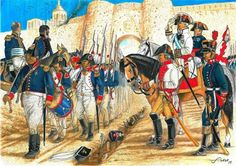 The Siege of Astorga of 1812 took place between 29 June and 19 August at… Independence War, French Pictures, 19. August, British Uniforms, Lieutenant General, Napoleonic Wars, Toy Soldiers, Empire, Military History