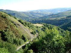 near O'Cebreiro, #Spain on the Camino de Santiago pilgrimage route  photo by photographer and author Trish Clark via www.guidetothecamino.com
