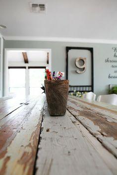 wood container- Joanna Gaines's Blog | HGTV Fixer Upper | Magnolia Homes