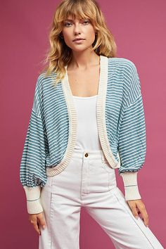 Knitted & Knotted Savannah Cardigan. #AnthroFave #Ad #Style