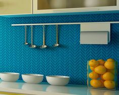 Zig Zag Wall Stencil Small Get Ziggy Stencil to Paint Herringbone Pattern for a Wallpaper Look on Etsy, $32.40 AUD