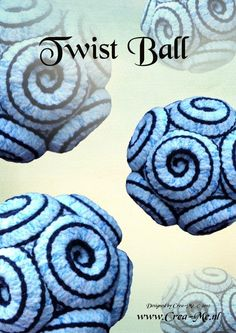 Twist Ball crochet pattern