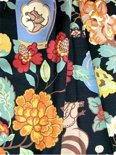 03373+Onyx+Garden+-+Vern+Yip+Fabric