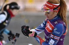 Koukalová trénuje na závody Světového poháru v Novém Městě na Moravě: